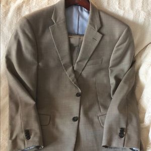 Tommy Hilfiger Tan/Brown full suit